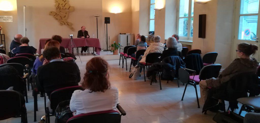 évènement en photo : Conférence du Rabbin Rivon Krygier, à l'institut universitaire Rachi