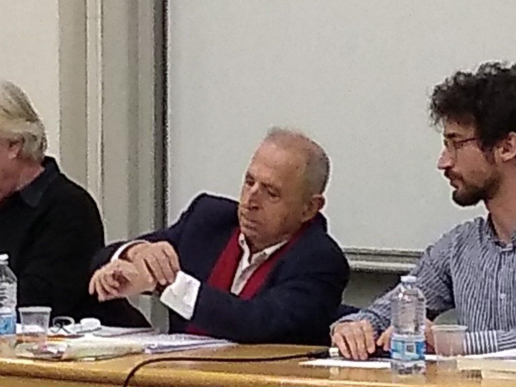 """évènement en photo :conférence au Campus Comtes de Champagne. Roland Gori, """"Un monde sans esprit""""  Conférence de clôture du séminaire """"Les dynamiques de la haine"""".   En partenariat entre l'Institut Universitaire Rachi, l'Université de Reims Champagne-Ardenne et Actualités de la Psychanalyse à Troyes"""