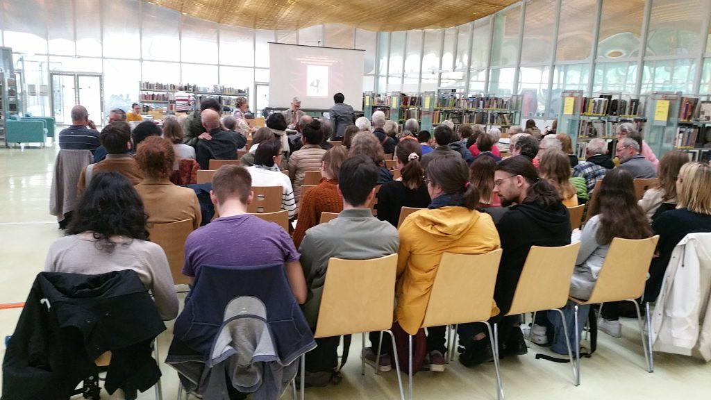 Médiathèque Jacques Chirac : Conférence de Didier Pasamonik