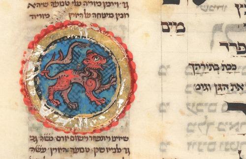 - Ms add 22 413 : Mazhor, Allemagne du Sud, v. 1322 signe du zodiaque le lion