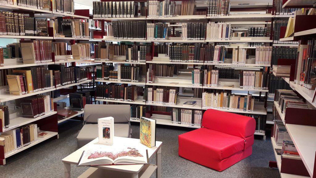 Bibliothèque de l'Institut Universitaire Rachi